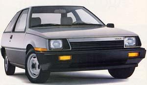 Mitsubishi Mirage 1983 91 Autocade