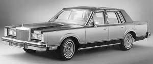 Lincoln Continental 1980  Autocade